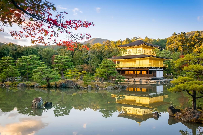 Pabellón de Oro en Kioto